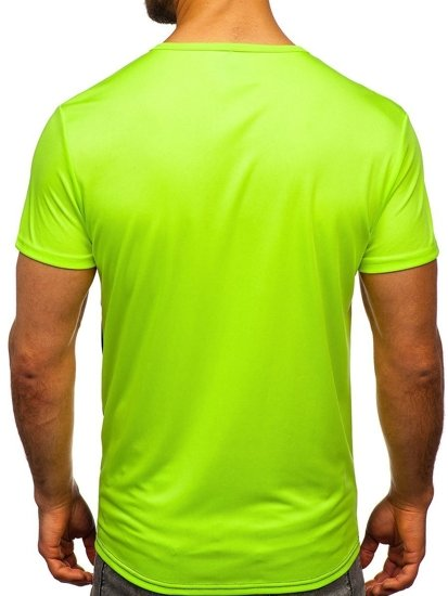 Celadonové pánské tričko s potiskem Bolf SS10991