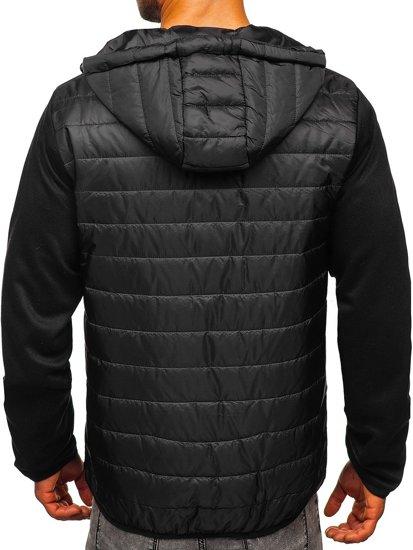 Černá pánská přechodová bunda Bolf TY12