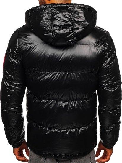 Černá pánská zimní bunda Bolf 99311
