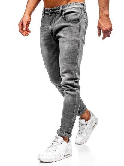 Černé pánské džíny slim fit Bolf KX308-5