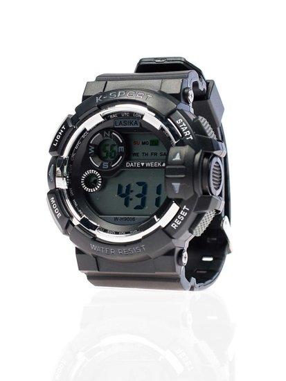 Černé pánské hodinky Bolf 9006