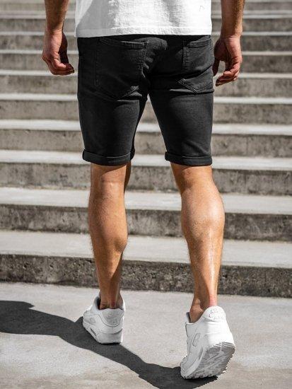 Černé pánské plavecké šortky Bolf KG3723