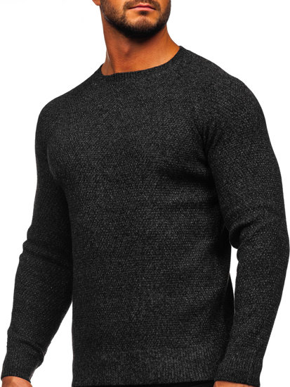 Černý pánský svetr Bolf H1810