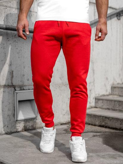 Červené pánské tepláky Bolf CK01