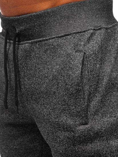 Grafitové pánské tepláky Bolf KS1943