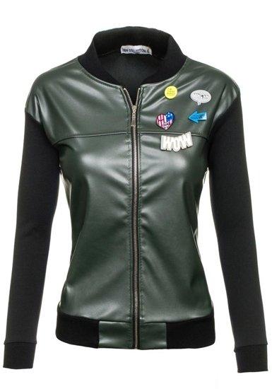 Khaki dámská přechodná bunda Bolf 6290