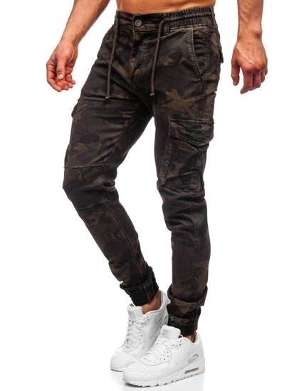 Khaki pánské jogger kapsáče Bolf CT6017