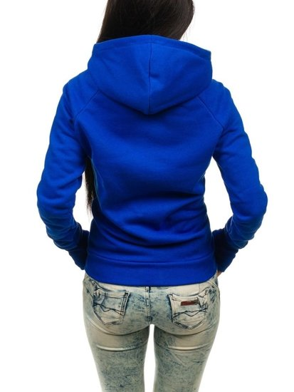 Královsky modrá dámská mikina Bolf 17S