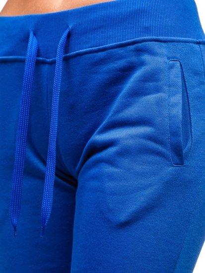 Královsky modré dámské tepláky Bolf WB11003-A