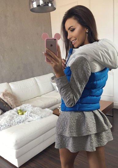 Modrá dámská vesta Bolf 7054