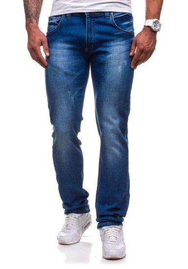 Modré pánské džínové kalhoty Bolf 4447