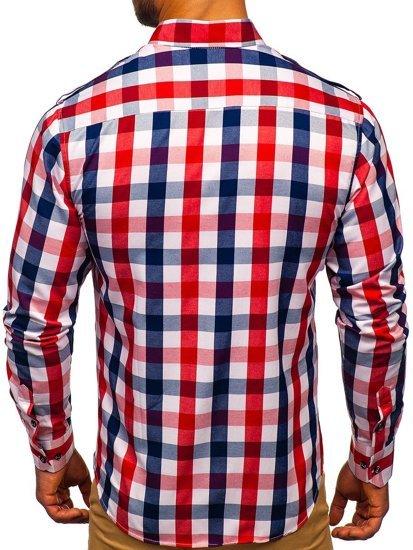 Pánská košile BOLF 2779 červená