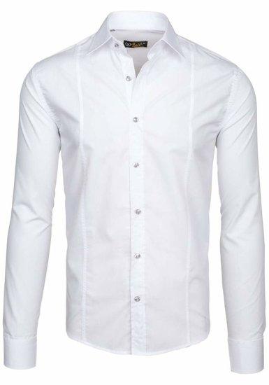 Pánská košile BOLF 4705G bílá