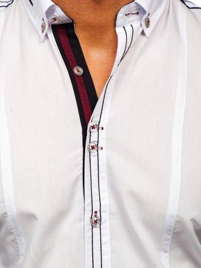 Pánská košile BOLF 4707 bílá