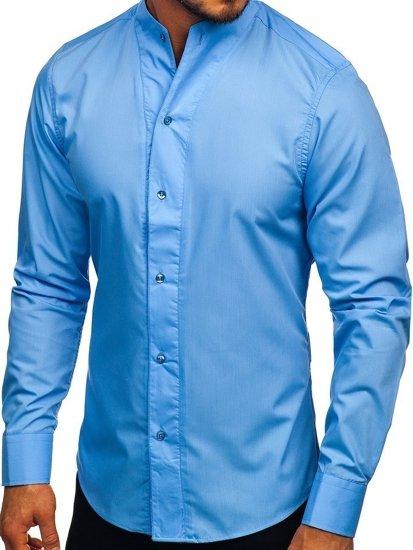Pánská košile BOLF 5702 blankytná