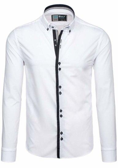 Pánská košile BOLF 5814 bílá