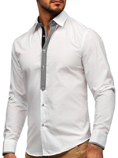 Pánská košile BOLF 6873 bílá