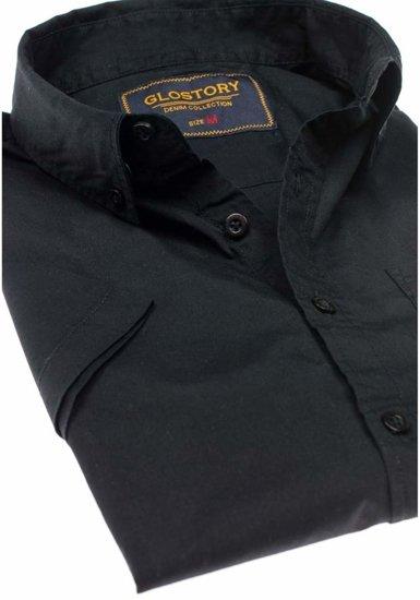 Pánská košile GLO-STORY 8166 černá
