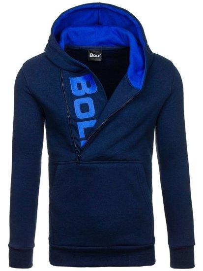 Pánská mikina BOLF 01S tmavě modrá