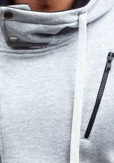 Pánská mikina BOLF 48S šedá