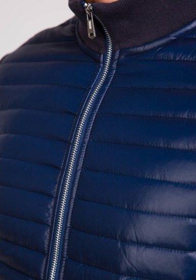 Pánská tmavě modrá přechodná bunda Bolf Z404