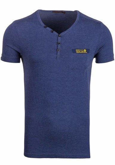 Pánské tričko GLO-STORY 6152 tmavě modré