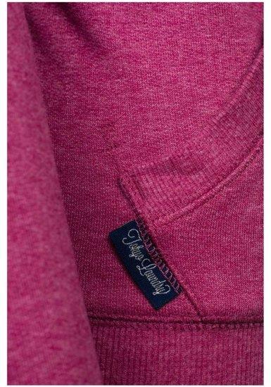 Růžová dámská mikina Bolf 6993