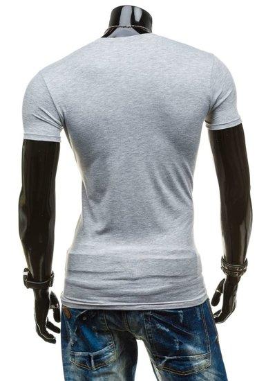 Šedé pánské spodní tričko Bolf 9012