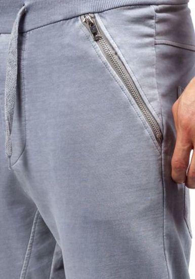 Šedé pánské tepláky jogger Bolf 2652