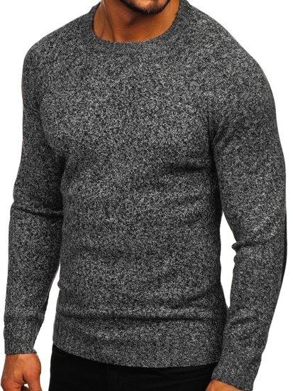 Šedý pánský svetr Bolf H1929