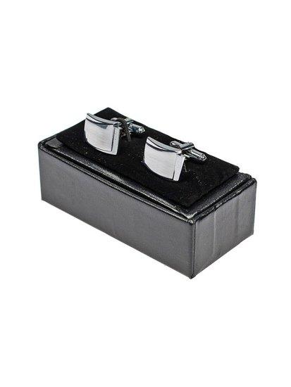 Stříbrné pánské manžetové knoflíčky Bolf S018