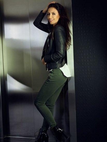 Stylizace č. 104 - kožená bunda, džíny
