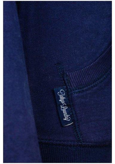 Tmavě modrá dámská mikina Bolf 6995