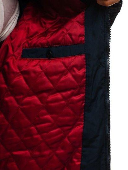 Tmavě modrá pánská přechodová bunda Bolf 1724