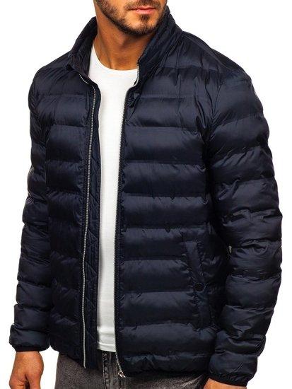 Tmavě modrá pánská přechodová bunda Bolf 5332