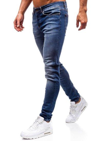 Tmavě modré pánské džíny Bolf 1032