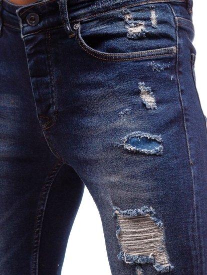 Tmavě modré pánské džíny Bolf 1033