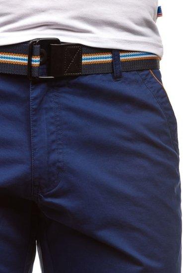 Tmavě modré pánské kraťasy Bolf S6