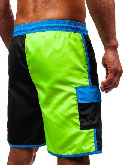 Vícebarevné pánské koupací šortky Bolf 353A