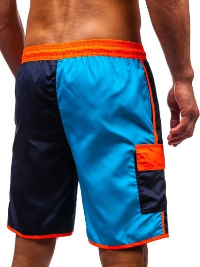 Vícebarevné pánské koupací šortky Bolf 353D