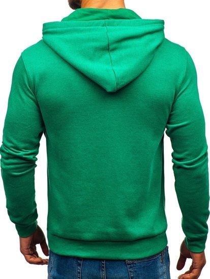 Zelená pánská mikina Bolf 6215