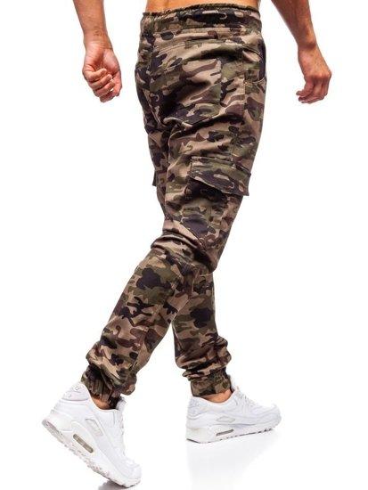 Zelené pánské jogger kapsáče Bolf 0404