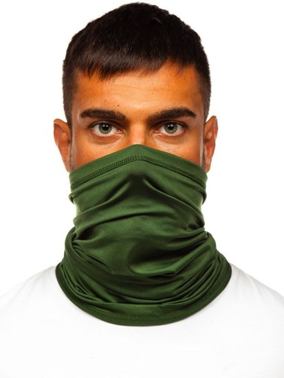 Zelený pánský šátek Bolf YW0501M