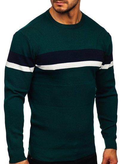 Zelený pánský svetr Bolf H2072