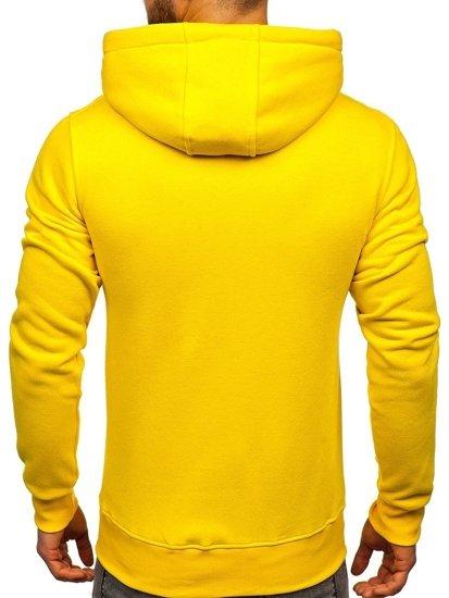 Žlutá pánská mikina s kapucí Bolf 2009