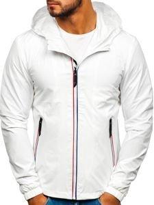 Bílá pánská přechodová bunda Bolf 5683