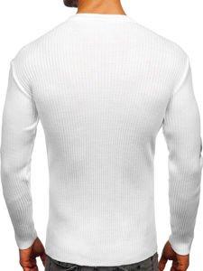 Bílý pánský svetr Bolf 360