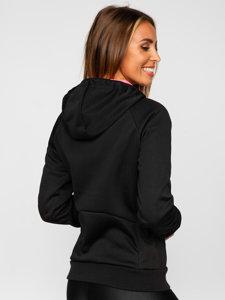 Černá dámská sportovní přechodová bunda Bolf KSW4009