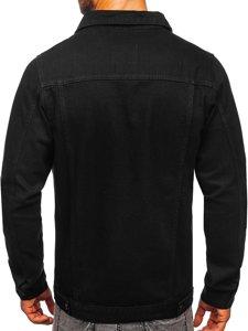 Černá pánská džínová bunda Bolf 2-3