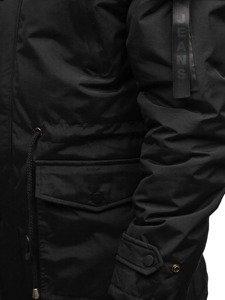 Černá pánská zimní parka Bolf R102